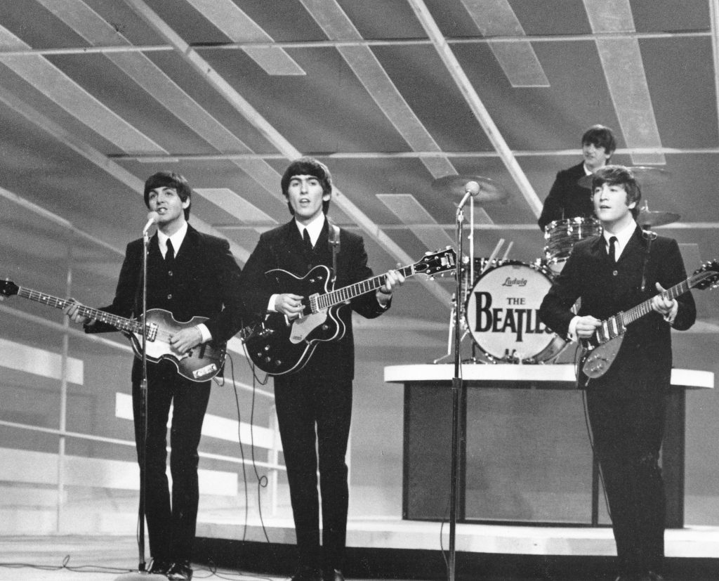 The Beatles' First Appearance