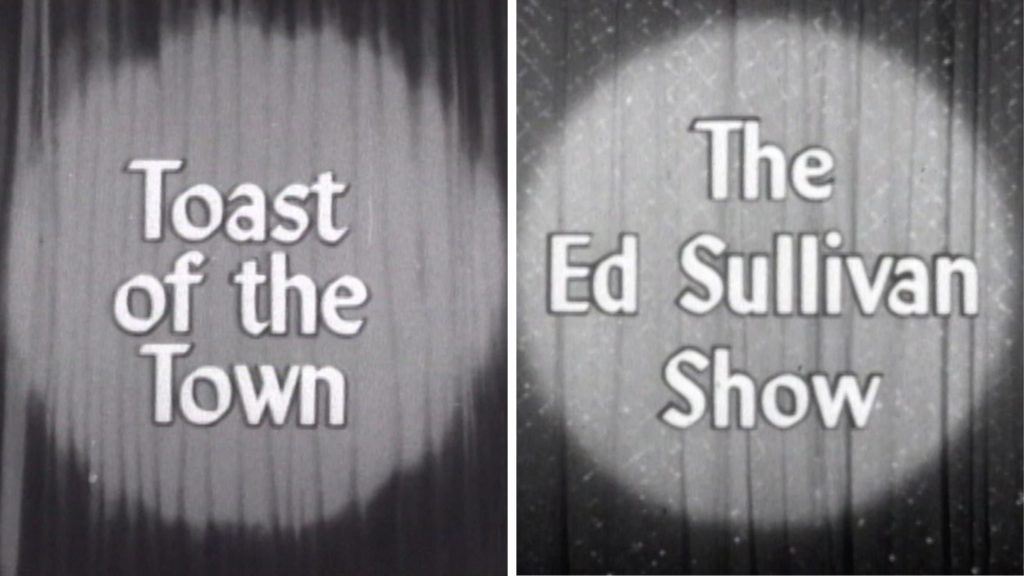 """Toast of the Town"" becomes ""The Ed Sullivan Show"""